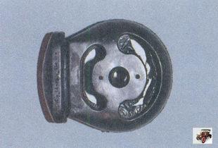 резиновая подушка основного глушителя
