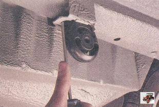 задняя подушка подвески основного глушителя Лада Приора ВАЗ 2170