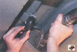 задняя подушка подвески глушителя Лада Приора ВАЗ 2170