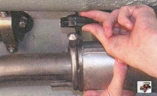 передняя подушка подвески глушителя Лада Приора ВАЗ 2170