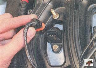 разъем жгута проводов модуля зажигания Лада Приора ВАЗ 2170