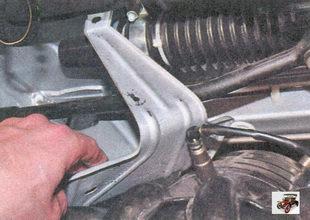 термоизоляционный щиток рулевого механизма Лада Приора ВАЗ 2170