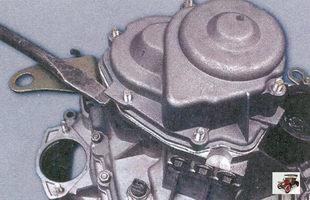 задняя крышка коробки передач Лада Приора ВАЗ 2170