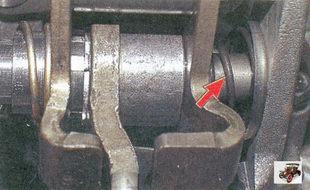 порядок установки конической пружины с опорными шайбами