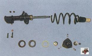 детали телескопической стойки Лада Приора ВАЗ 2170