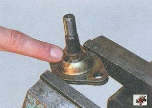 проверка шарового шарнира Лада Приора ВАЗ 2170