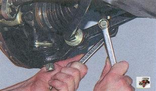 гайка крепления стойки стабилизатора к рычагу передней подвески Лада Приора ВАЗ 2170