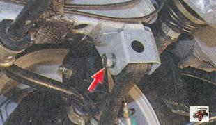 гайка крепления рычага передней подвески Лада Приора ВАЗ 2170