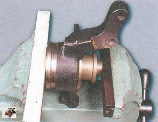 установка подшипника ступицы в поворотный кулак