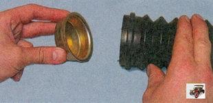 пыльник и крышка амортизатора