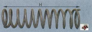 пружина заднего амортизатора