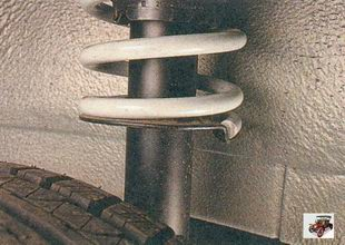 порядок установки амортизатора на автомобиль Лада Приора ВАЗ 2170