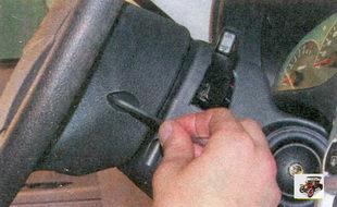 винты крепления подушки безопасности в рулевом колесе