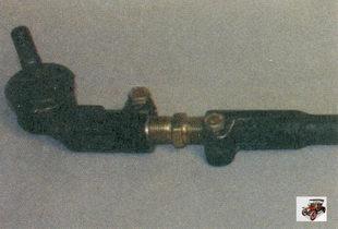 наконечник рулевой тяги; регулировочная тяга