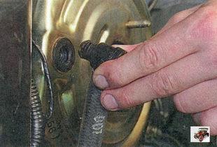 вакуумный шланг с клапаном