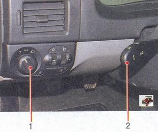 рычаг переключателя указателей поворота и света фар лада приора ваз 2170