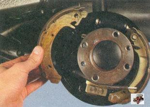 передняя тормозная колодка