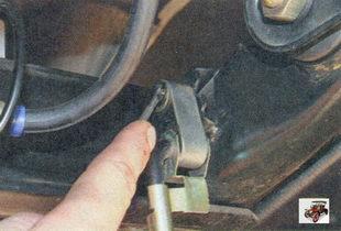 стопорная шайба серьги упругого рычага привода регулятора давления тормозов