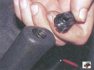 кнопка рычага ручного тормоза