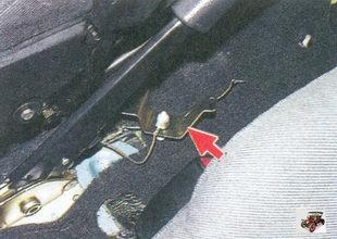 кронштейн с выключателем