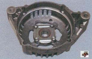 крышка генератора в сборе с подшипником