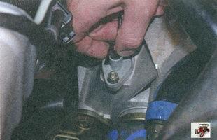 фиксатор разъема проводов датчика скорости