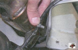 держатель жгута проводов управляющего датчика концентрации кислорода