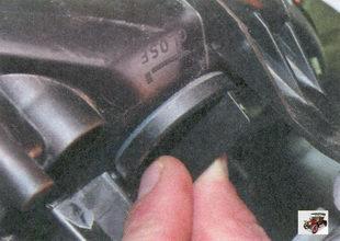 патрон лампы переднего указателя поворота