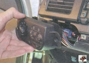 блок управления наружным освещением и освещением приборов