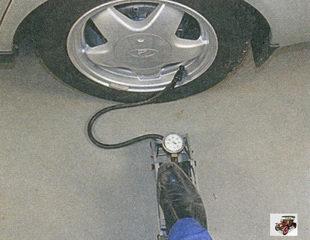 ножной автомобильный насос
