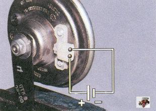проверка звукового сигнала