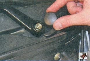 декоративная заглушка гайки крепления рычагов стеклоочистителя