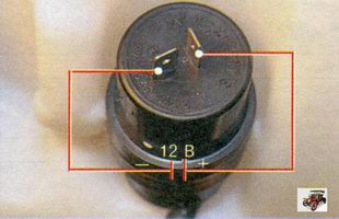 проверка электродвигателя насоса омывателя