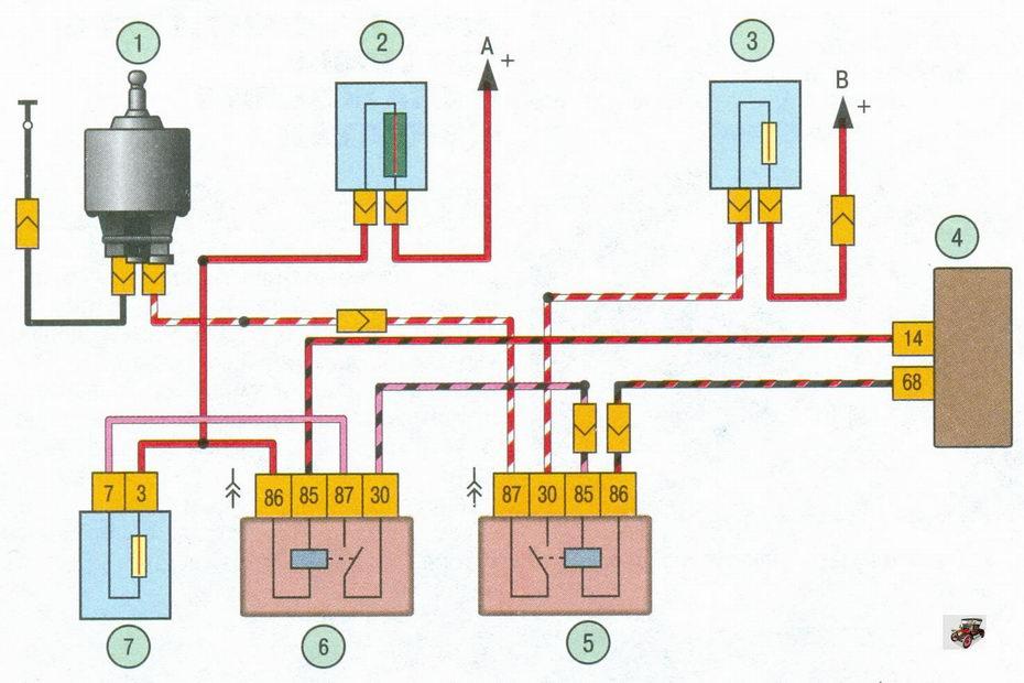 Схема включения
