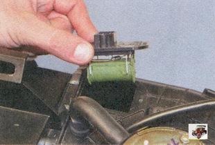 дополнительный резистор отопителя салона