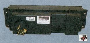 переключатель режимов работы электровентилятора отопителя в сборе (вид сзади)