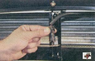 фиксатор датчика температуры окружающего воздуха