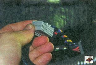 разъем проводов блока управления стеклопакетом