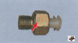 датчик сигнальной лампы аварийного падения давления масла