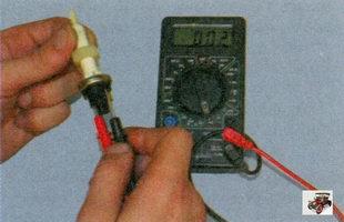 проверка выключателя стоп-сигнала