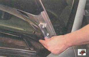 держатель шланга омывателя ветрового стекла