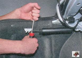 пружины крышки багажника