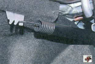 регулировка усилия для открывания крышки багажника