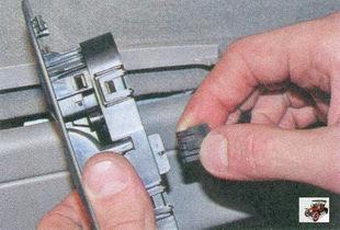 разъем жгута проводов модуля управления стеклоподъемниками и зеркалами