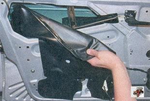 шумоизоляционная прокладка передней двери