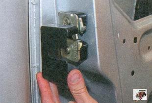 накладка наружного замка передней двери