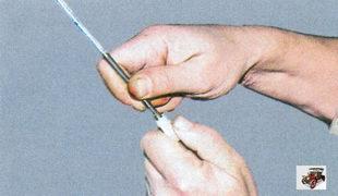 регулировка тяги привода ручки передней двери