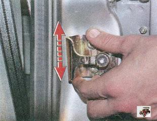 регулировка замка передней двери