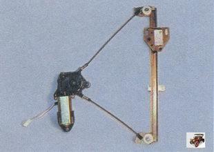 механизм стеклоподъемника передней двери