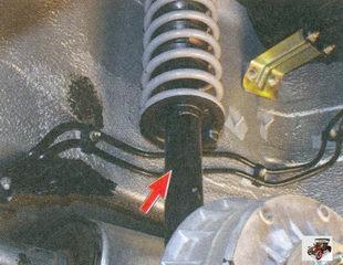 амортизатор задней подвески лада приора ваз 2170